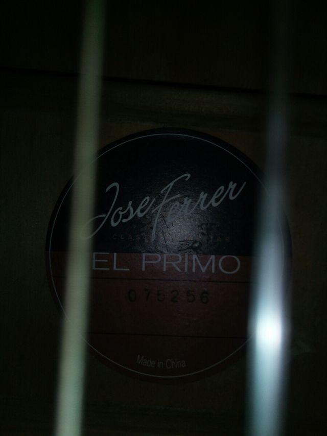 José Ferrer classical guitar