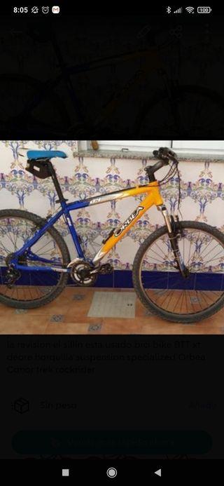 bicicleta de montaña orbea 24 mediana