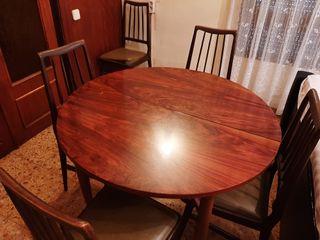 Mesa extensible comedor 6 personas