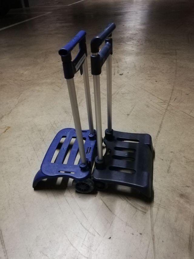 carritos porta mochilas cole