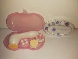 Set de limpieza facial y kit de manicura