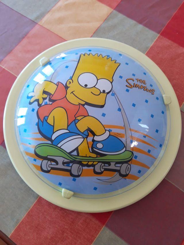 Plafón/luz de techo Bart Simpson