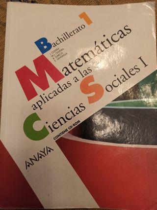 Matemáticas aplicadas ciencias sociales 1