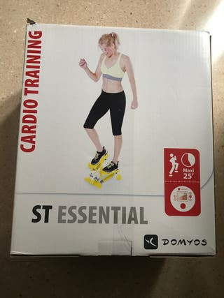 Stepper cardio training