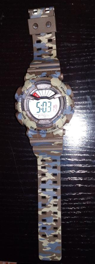 Reloj camuflaje militar