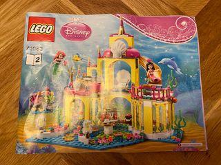 Palacio submarino de Ariel. Disney Lego