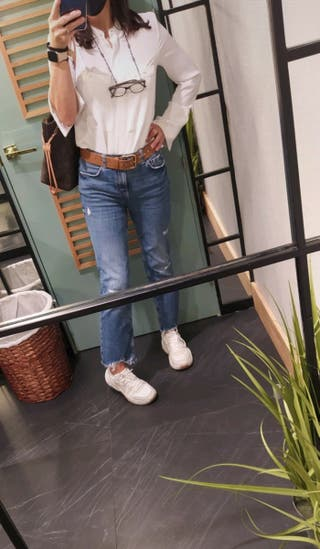 Jeans premium bootcut cropped.
