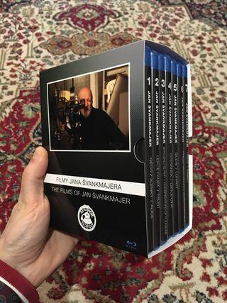 Jan Svankmajer Blu-ray colección completa 7 pelis