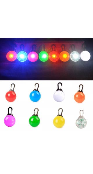 LED Pendant for Dogs clip on Collar Light
