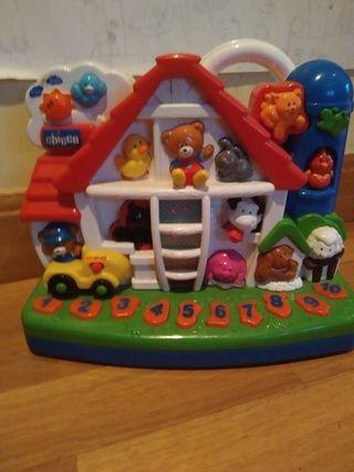 juguete interactivo chicco granja