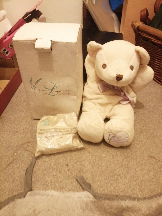 Teddy heater or cooler for babies