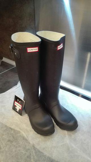 botas + calcetines hunter