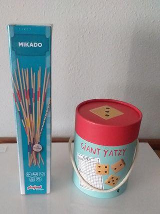 MIKADO + GIANT YATZY