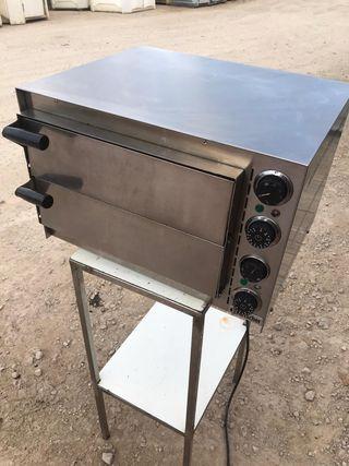 Horno pizza Mini 2, 2 cámaras Industrial Bartscher