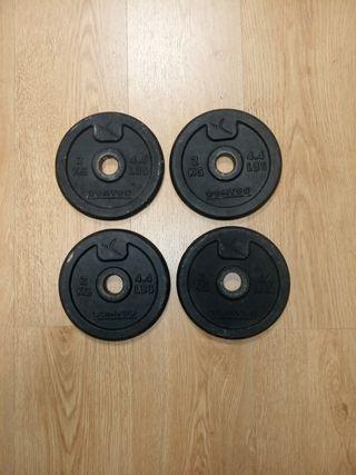 Cuatro discos de 2k