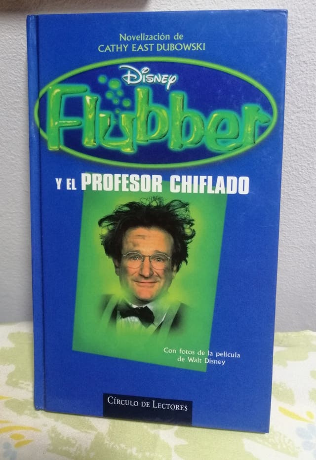 Libro De Flubber el Profesor Chiflado.
