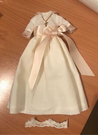 Lesly vestido de comunión