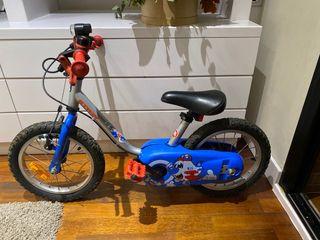 """Bicicleta niños Btwin 14"""" 3-6 años"""