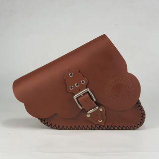 ALFORJA LATERAL SPORTER (color marrón)