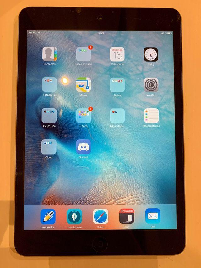IPad Mini Apple Wi-Fi + Cellular 16 GB con funda