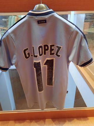 Camiseta Celta Gustavo Lopez