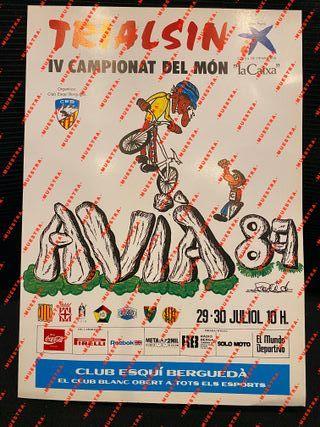 Trialsin Avià '89. IV Campeonato del Mundo.