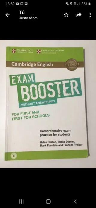 libro inglés b2, exam booster
