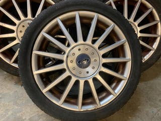 "Llantas Aluminio Ford Focus ST 17"" 4x108"