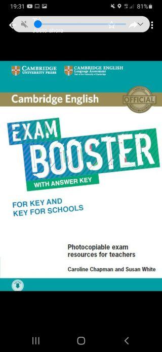 exam booster libro inglés A2