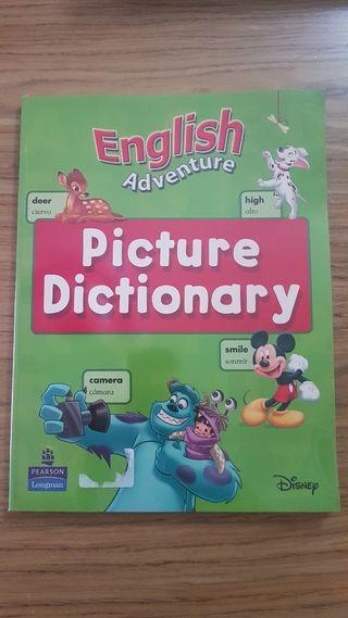 libro ingles diccionario disney