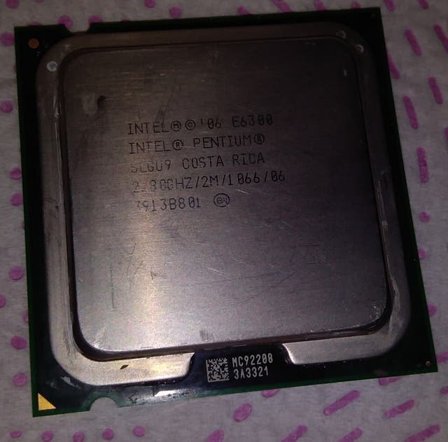 Procesador Intel Dual Core E6300 2.8