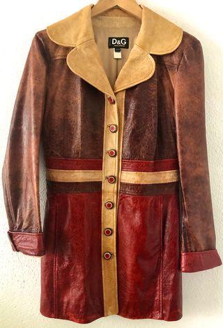 Abrigo de piel Dolce&Gabbana