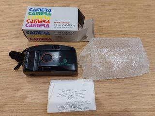 Cámara fotos carrete 35mm sin estrenar