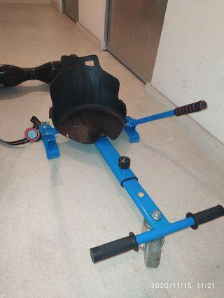 Silla kart para hoverboard