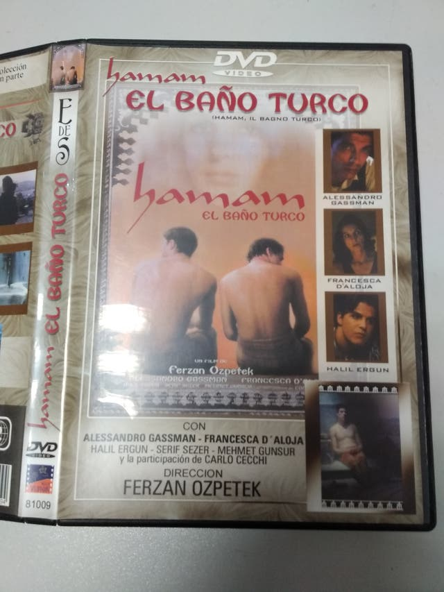 pelicula dvd hamam el baño turco