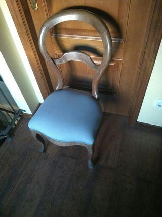 silla Antigua estilo Luis XV