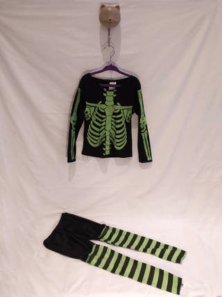 Disfraz esqueleto Halloween