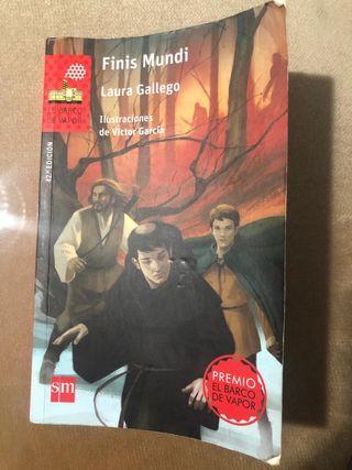 libro Finis mundi de el barco de vapor