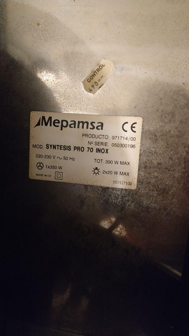 Campana decorativa extractora Mepamsa