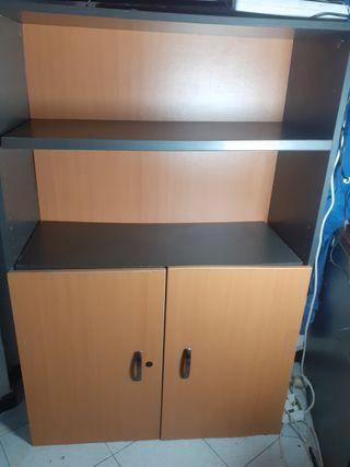 mueble de oficina archivador con estanteria