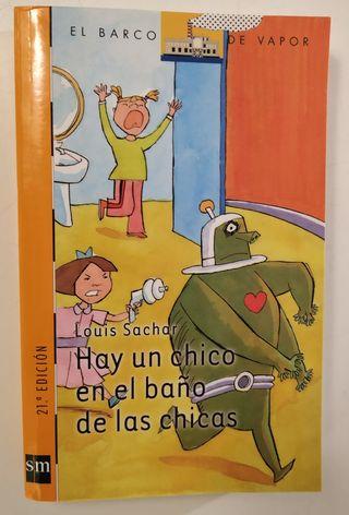HAY UN CHICO EN EL BAÑO DE LAS CHICAS. Barco Vapor