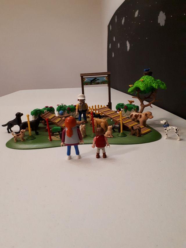 Playmobil parque de perros