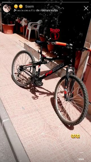 Bicicleta fs260 full suspension