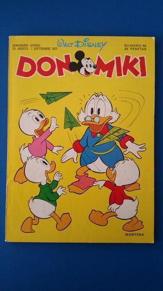 TEBEO DON MIKI Nº 46 MONTENA WALT DISNEY 1977