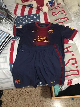 Camiseta y Pantalon OFICIAL FC BARCELONA
