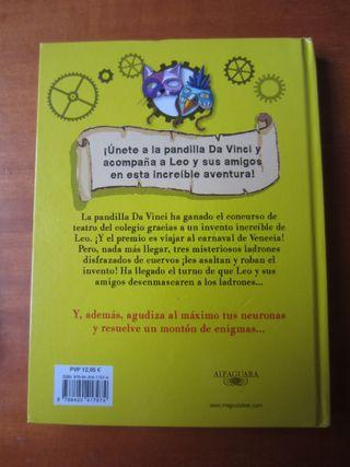 El Misterio de las Mascaras Venecianas (C. Galvez)
