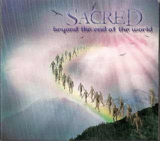 SACRED CD RARE HEAVY Español 2004-AVALANCH