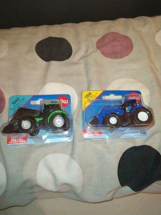 Tractores Siku