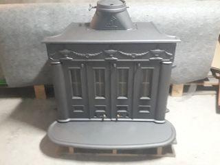 chimenea de hierro fundido Hergom