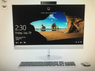 Pc lenovo all in one